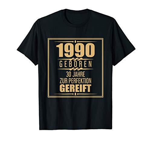 30. Geschenkidee 30 Jahre 1990 Geschenk 30ter Geburtstag T-Shirt