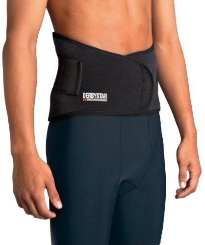 Derbystar Rückenschutz mit Schienen, L, schwarz, 7411050000