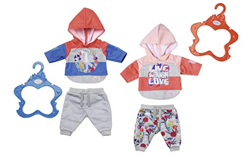Zapf Baby Born Trend Casuals 2 Assorted Juego de ropita para muñeca - Accesorios para muñecas (Juego de ropita para muñeca, 3 año(s),, Baby Born, Niño, Chica)