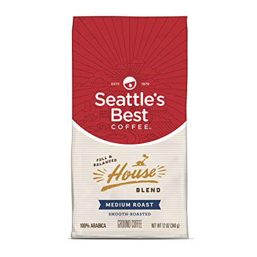 Seattle's Best Coffee House Blend Ground Coffee, 12 Ounce Now $3.90
