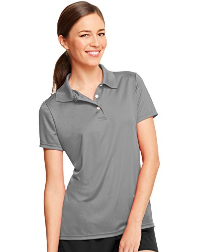 Hanes Women's Cool Dri Sportshirt, XX-Large, Graphite