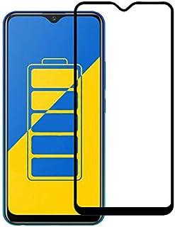 Phone Screen Protectors - Full Glue Cover Tempered Glass Screen Protector for vivo Y17 for vivo Y15 2019 for vivo Y11 2019 for vivo Y12 vivo Y3 Glass film (black color)
