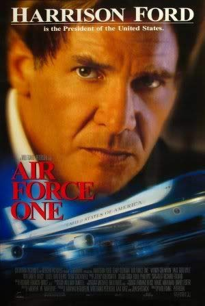 AIR Force ONE - Harrison Ford – Movie Wall Art Poster Print – 43cm x 61cm / 17 Inches x 24 Inches A2