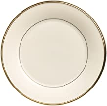 Lenox Eternal Gold Banded Ivory China Dinner Plate - 140104000