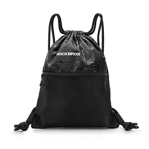 Mdsfe Männer Frauen Sporttasche Kordelzug Hochleistungsrucksack Outdoor Sports Training Radsport Aufbewahrungstasche Mehrzweck-Yogatasche - D49, a2