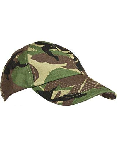 Casquette/chapeau à visière militaire pour homme DPM Camouflage désert UTP Gris urbain