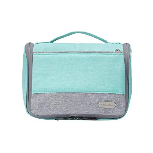 Wuio Make-up tas, waterdicht, draagbaar, haken, reistas, voor mannen en vrouwen, outdoor
