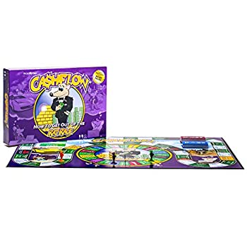 CASHFLOW Board Game  New Edition  with Exclusive Bonus Strategy Guide  PDF Delivered Via Email