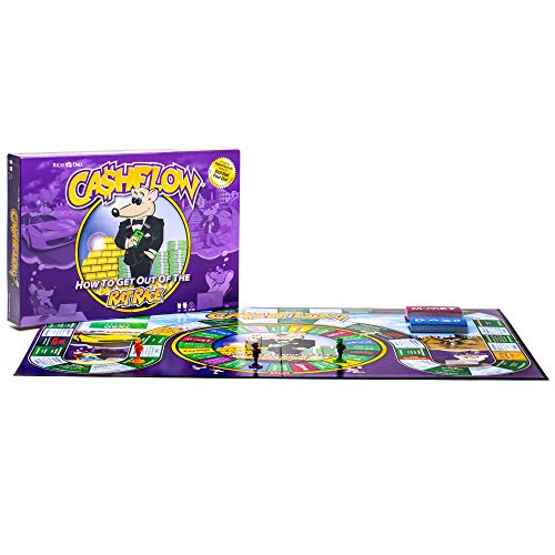 CASHFLOW Board Game (New Edition) with Exclusive Bonus Strategy Guide (PDF Delivered Via Email)