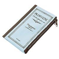 0168101Pianolineダブルペンケース ノクターン