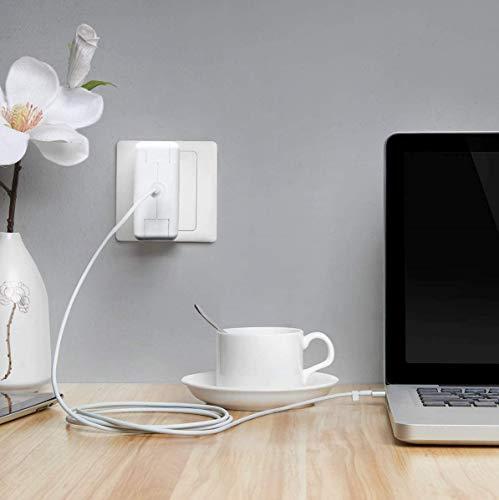 Caricatore Mac book Pro 85w Mag safe 2 Adattatore di alimentazione per display Retina MacBook Pro 13/15 di ricambio(2012-2015) T-Tip magnetico