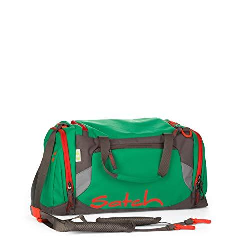 Satch Sporttasche - 25l, Schuhfach, gepolsterte Schultergurte - Green Steel - Grün