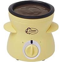 Bestron Sweet Dreams Fondue de Chocolate con Diseño Retro, 25 W, 0.3 litros, Plástico, Amarillo