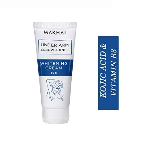 Makhai Underarm Whitening Cream for underarms, elbows, knee with Kojic Acid & VITAMIN B3-50g