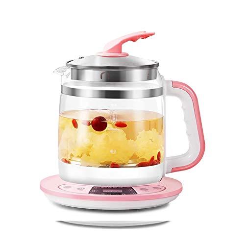 BCXGS 1.8 Liter Wasserkocher, schnellem elektrischem Wasserkocher aus Glas, Multifunktionales Gesundheit Heater, Schreibtisch Porridge und Suppe, Haushaltswasserkocher