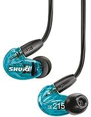 SHURE 舒爾 耳機 SE215 Special Edition/入耳式 透膚藍 【日本國內正品】 SE215SPE-A