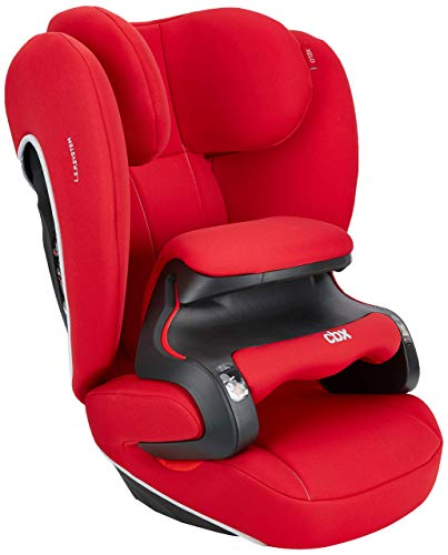 cbx Kinder-Autositz Xelo, Gruppe 1/2/3 (9-36 kg), Ab ca. 9 Monate bis ca. 12 Jahre, Mit Latch connect, Crunchy Red