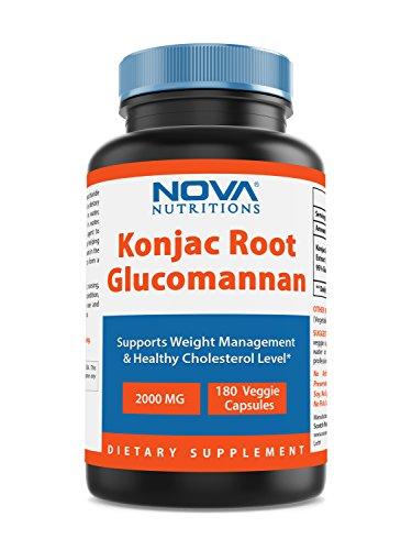 Nova Nutritions Konjac Root Glucomannan