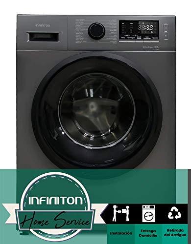 Lavadora INFINITON 9KG WM-914S (1400 RPM, A+++, 16 programas) INSTALACIÓN INCLUIDA