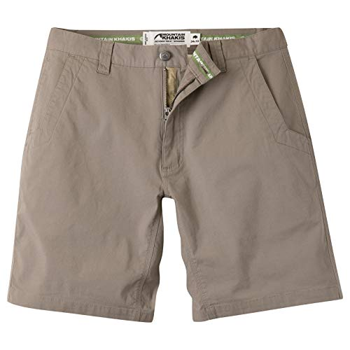 Mountain Khakis Mens All Mountain Slim Fit Short: Best Outdoor Hiking Summer Casual Short, Firma, 36W 10In