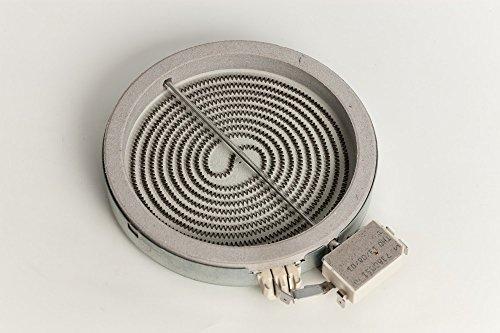 Whirlpool Bauknecht 481231018887 - Resistencia para vitrocerámica compatible con EGO 10.54111.004 (diámetro de 140 mm, 1200 W, 230 V)