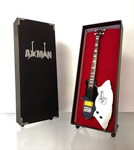 Gene Simmons (KISS): Kramer Axe Bass Miniatur-Gitarrennachbildung