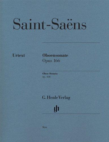 Sonate Opus 166 --- Hautbois / Piano