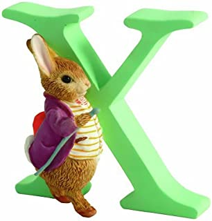 Beatrix Potter Alphabet Letter X Old Mr Benjamin Bunny Figurine by Beatrix Potter