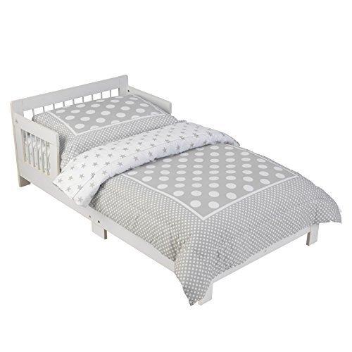 KidKraft 76247 Cama infantil con diseño clásico con marco de madera, muebles para dormitorio de