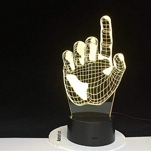 3D Roller Wish LED Nachtlicht,bunt,Atmosphäre,Schreibtischlampe,Hip Hop Love,Weihnachtsgeschenke,Schlafzimmerbeleuchtung,Dekoration,Fernbedienung-Steuerung