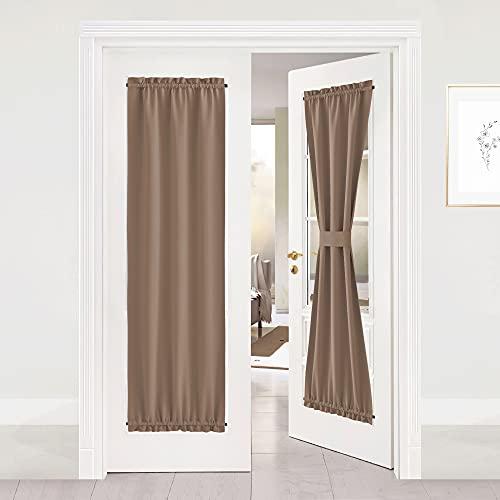 NICETOWN Blackout Sliding Door Curtains - Total...