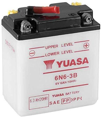 Batería Yuasa 6N6-3B