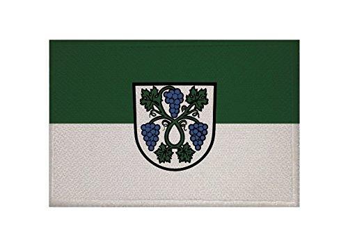 U24 Aufnäher Dossenheim Fahne Flagge Aufbügler Patch 9 x 6 cm