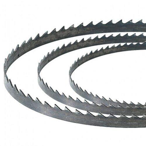 Silverline Bandsaw Blades 3 x 56inch or 1425mm for Soft Metal Cut 1/4 inch 14tpi