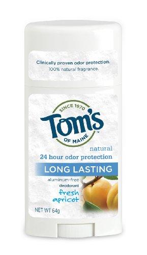 Tom's of Maine 64 G Abricot longue durée Stick déodorant (lot de 2)