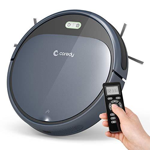 Robot aspirador Coredy R300 con estación de carga, 110 min