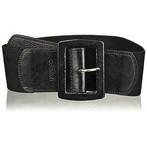 Calvin Klein Women's Linen Stretch Belt 10