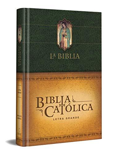 Compare Textbook Prices for La Biblia Católica: Tamaño grande, Edición letra grande. Tapa dura, verde, con Virgen Spanish Edition Large type / Large print Edition ISBN 9781644732472 by Biblia de América