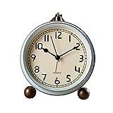 Relojes de escritorio Reloj Retro Silent Table Reloj Ninguno Tick...