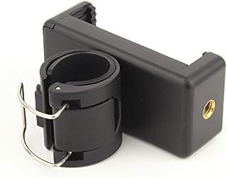 【Taisioner】アクションカメラ自撮り棒に携帯固定用マウント スマホ固定マウント+スマホホルダー (普通な自撮り棒用)