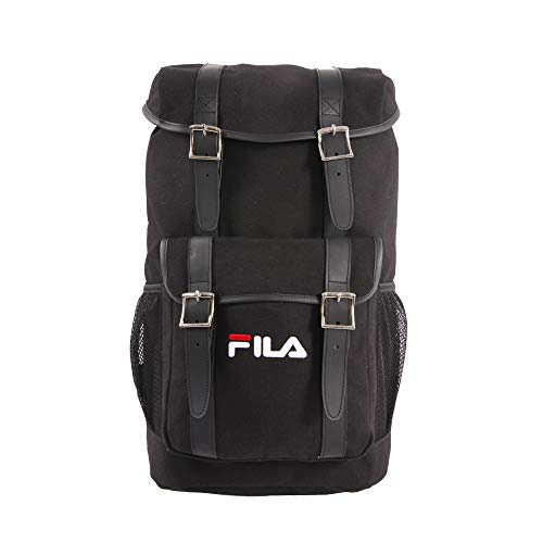 Fila Rucksack Backpack, Black, 19 in