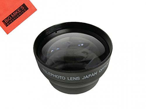 46MM 2.2X Telephoto Lens For Panasonic Lumix G VARIO 35-100mm f/4.0-5.6 ASPH MEGA O.I.S. Lens, G X Vario PZ 45-175mm f/4.0-5.6 Zoom OIS Lens, G 14mm f/2.5 ASPH II Lens, G Leica DG 15mm f/1.7 ASPH, G 20mm f/1.7 Aspheric G- Series Lens, DG 25mm f/1.4 ASPH Micro 4/3 Lens, G Macro 30mm f/2.8 ASPH, DG Macro 45mm f/2.8 ASPH. MEGA O.I.S. Lens, Leica