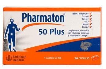 Pharmaton 50 Plus 60 Cáps.