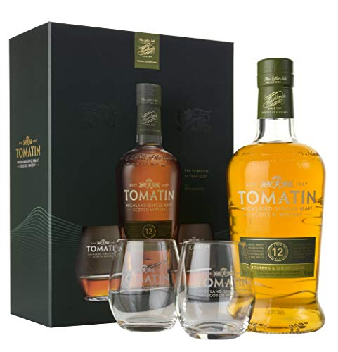 Tomatin 12 Years Old Bourbon & Sherry Casks Whisky (1 x 0.7 l)