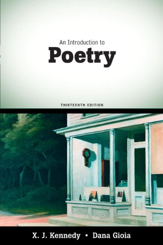 An Introduction to Poetry (13th Edition)