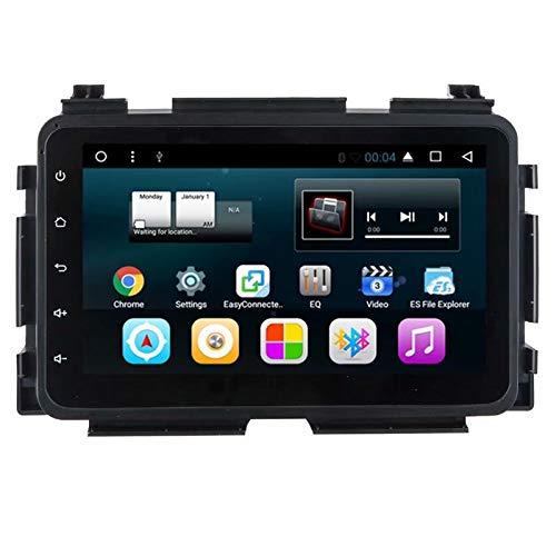 TOPNAVI 8inch 2Din Android 7.1 dans Dash Auto Multimédia pour Honda Vezel 2015 Stere Navigation GPS Quad Core 1 Go de RAM 16 Go ROM WiFi 3G RDS Lien Miroir FM AM BT Audio Vidéo