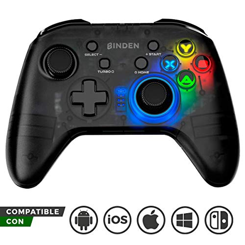 control arcade nintendo switch fabricante BINDEN