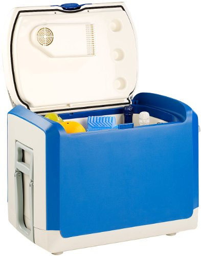 Xcase Warmhaltebox elektrisch: Thermoelektrische Kühlbox und Wärmebox, 12 V / 230 V, 40 l (Wärmebox elektrisch)