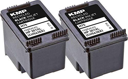 KMP Druckerpatrone Kompatibel HP 301XL (CH56EE) Tintenpatrone HP Deskjet 1000, 1010, 3000, 1050,1510, 2050, 2510, 2540, 3050, 3055A HP Officejet 2620, 4630 - Farbig/Color