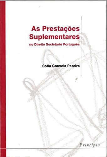 Prestaç. Suplement. Direito Societ. Portugues